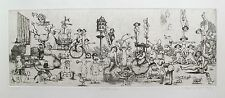 """CHARLES BRAGG """"NOCTURNE"""" Hand Signed Limited Edition Etching RARE!"""