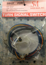 SHEE-MAR SM42F Switch Turn Signal Ford Mustang Fairlane Falcon Bronco F100/350