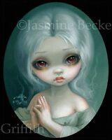 Wishful Thinking Jasmine Becket-Griffith CANVAS PRINT big eye art lowbrow fairy
