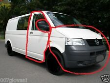 ☀VW T5 Transporter van DRIVER DOOR  include SHELL & GLASS☀FIT ALL 04-10 T5☀WHITE