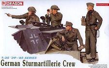 Dragon 1/35 6029 WWII German Sturmartillerie Crew (4 Figures w/Photo-Etched)