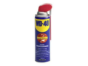 WD40 - 33134/6 - WD40 - Lubrifiant 500ml Système professionnel double positions