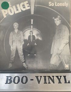 "THE POLICE SO LONELY 7"" VINYL RECORD 1978 AMS 7402 EX / VG+"
