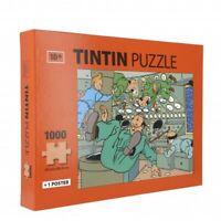 Puzzle Tintin, en apesanteur dans la fusée avec poster 50x66,5cm 81550 (2019)