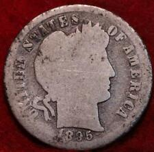 1895-S San Francisco Mint Silver Barber Dime