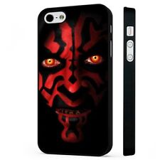 Darth Maul Star Wars Face BLACK PHONE CASE COVER fits iPHONE