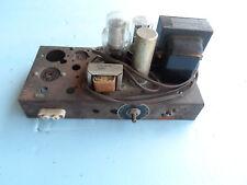 Vintage Tube Power amp chassis Motorola 6V6 model