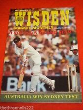 March Wisden Cricket Sports Magazines in English
