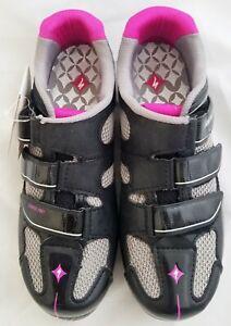 SPECIALIZED Spirita RBX Women's Cycling Shoes, Black/Pink, 36EU/5.75US