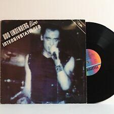 Udo Lindenberg LIVE INTENSIVSTATIONEN 1982 2xLP German IMPORT Telefunken VG++