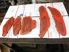 2002 SKIDOO 440 MXZ X snowmobile parts: LOT of 5 HOOD SCREENS