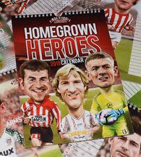 Homegrown Heroes (Sunderland AFC) A4 2019 wall Caricature Calendar
