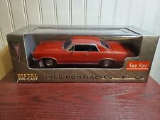 Sun Star 1965 Pontiac GTO 1:18 Scale Diecast Model Car Red 1801