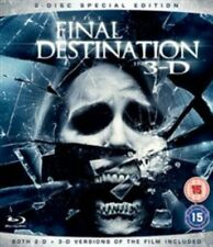 The Final Destination in 3-d 4 Th Installment Blu-ray DVD Region 2
