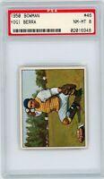 1950 Bowman Yogi Berra #46 PSA 8 New York Yankees HOF NM/MT MINT RARE