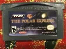 Polar Express Nintendo Gameboy ADVANCE GBA Tested AUTHENTIC
