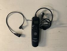 Canon Timer Remote Controller TC-80N3 With Mirrorless $50.00 Cable Pre Owned