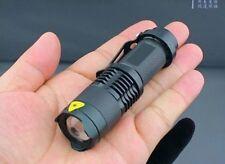 lantern lamp light - very bright led - aluminium alloy - focus lens zoom flash