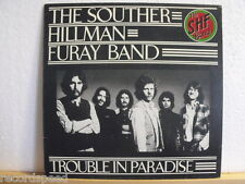 """★★ 12"""" LP - SOUTHER HILLMAN FURAY BAND - SHF - Trouble In Paradise - GER Asylum"""