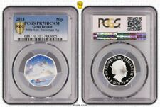 More details for 2018 great britain snowman 40th anniversary silver proof pr70dcam highest grade