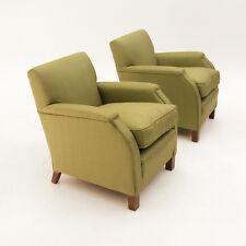 Coppia di poltrone Art Decò anni 30, 40, vintage armchair, mid century
