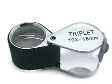 Professional Jewellers Loupe 10x Hand Lens Magnifier Jewellery Gemmology GIA GAA