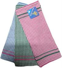 New 12x Tea Towels Hand Dish Cloth Teatowel 100% Cotton Kitchen Linen Bulk