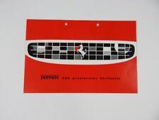 Original Ferrari 250 Granturismo Berlinetta SWB Sales Brochure Italian