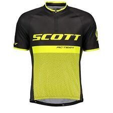 Scott RC Team 20 S/SL Shirt & Bibshorts Black/Sulphur Yellow Large RRP £108.98