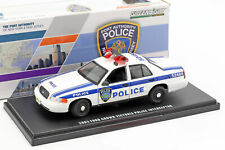 Ford Crown Victoria Police Interceptor 2003 weiß / blau 1:43 Greenlight