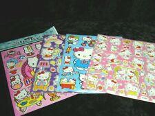 Hello Kitty 4 X A4 hojas de brillante hoja de pegatinas (481) Bolsas De Fiesta Media