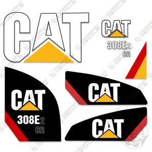 Caterpillar 308 E2 CR Decal Kit Skid Steer Equipment Decals  (308e2cr)