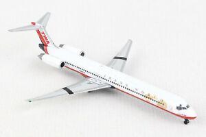 HE533737 HERPA WINGS TWA TRANS WORLD AIRLINES MCDONNELL DOUGLAS MD-83 1/500