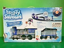 Lionel Frosty The Snowman Train Christmas Authentic Sounds Headlight Plays Song
