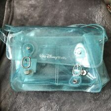 Disney Shoulder Bag Blue Glittery