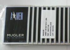 THIERRY MUGLER A⭐️MEN 10 Spray Proben 10 x1,2ml=12ml EDT NEU