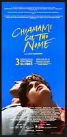 Cartel Llámame Col Su Nombre Luca Guadagnino Timothee Chalamet Cine L17