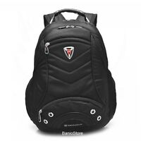 Men Women Nylon Backpack 15.6'' Laptop Computer School Travel Bag FREE SHIPPING