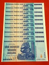 Zimbabwe 10 * € 100 miliardi di KRW. FIOR/UNC (mugabe)