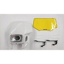 Lampenmaske für 400 ccm HONDA XR 400 weiss mit Scheinwerfer CEMOTO