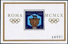 COSTA RICA 1960 ROME SUMMER OLYMPICS S/S  MNH SPORTS