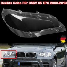 Scheinwerferglas Rechts Für BMW X5 E70 08-13 Linsen Streuscheiben Abdeckung Klar