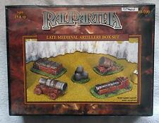 RAL PARTHA - 10-700 LATE MEDIEVAL ARTILLERY BOX SET NUOVO