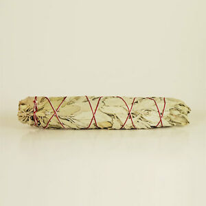 """Premium Quality 8"""" (20cm) White Sage Smudge Stick - cleansing, sacred space"""