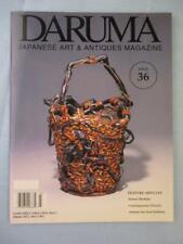 Daruma Japanese Art & Antiques Magazine 36 Netsuke Armour Foot Soldiers Flowers