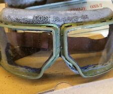 Soviet Army - Military Tactical Safety Goggles Clear Lens