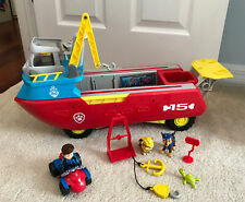 Paw Patrol Sea Patroller Transforming Boat, Light and Sound and Ryder Lot