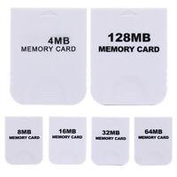Practical 4MB 8MB 16MB 32MB Memory Card for Nintendo Wii Gamecube GC NGC Game