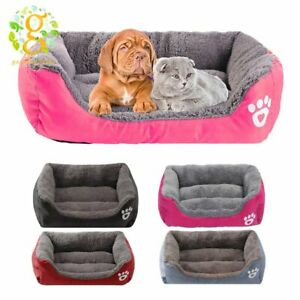 Washable Cat Pet Dog Bed Puppy Cushion House Warm Kennel Sofa Mat Pad Blanket