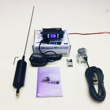 Team Radio CB Mobile MINI Com Starter Kit + Mini Stinger Antenne & 4 Boulon Barre Kit